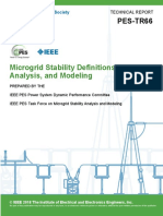 Microgrid Stability Definitions, Analysis, and Modeling