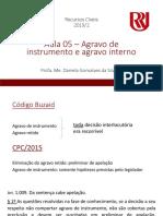 Recursos Cíveis - Aula 05 - Agravo de Instrumento e Agravo Interno - Alunos (4)