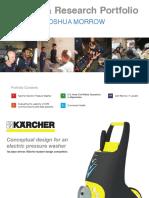 Design Research Portfolio of Josh Morrow