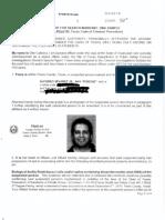 Poncho Nevarez Affidavit