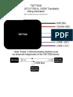 Tmt7839 Wiring Diagram