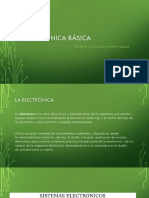 Electrónica Básica Electronica y Generación de Enerfí