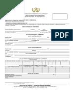 Formulario Para Presentar Aviso Notarial a Dicabi