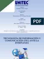 HERRAMIENTAS DE TECNOLOGIAS EDUCATIVAS