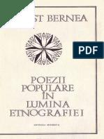 Bernea Ernest Poezii Populare in Lumina Etnografiei 1976