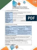 Guía de actividades y rúbrica de evaluación - Paso 5 - Realizar la segmentación de mercados y la mezcla de mercadeo (1).pdf