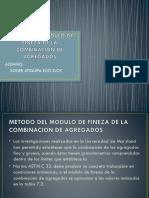 Metodo Del Modulo de Fineza de La Combinacion