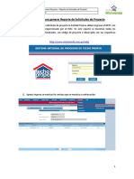 NSTP - Instructivo Para Las ET - Reporte de Solicitudes de Proyecto