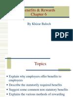 Benefits & Rewards Chap 6 HRM-1