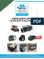 Non-Return Flap Valve Brochure MISSION 2017