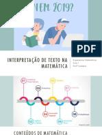 Interpretação de Texto na Matemática do Enem.pdf