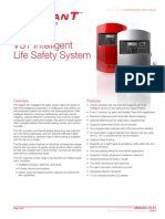 VIGILANT VS1 64 Fire Alarm Control Panel