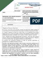 Informe Pausa Activa Julio 2019