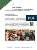 Acuerdo internacionales Conflicto Clima Paris