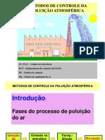 Métodos de Controle de Poluição Atmosféria