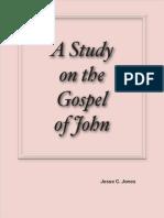 A Study on the Gospel of John by Jesse C. Jones
