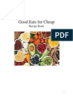good eats for cheap- social action project  autosaved