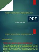 2016B DIAPOSITIVA Nº 5 TEORIA NEOCLÁSICA PROCESO ADMIN. PLANEAMIENTO ESTRATÉGICO - copia.ppt