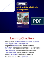 Market Logistics & Supply Chain Management