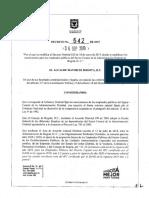 Decreto 542 de 2019