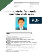 Hoja de Vida Andrés Carreño 2019 Act. Jul