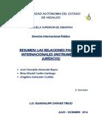 Las Relaciones Pacificas Internacionales Los Instrumentos Jurídico1
