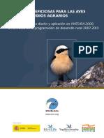 Medidas Beneficiosas para las Aves Ligadas a Medios Agrarios