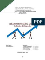 Iniciativa Empresarial Proyecto Unidad II