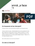 """Ce Înseamnă """"a Face Discipoli""""_ _ Iisus Film Proiect"""