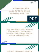 Case study uber
