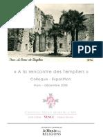 -A La Rencontre Des Templiers Programme[1]