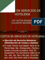 7-Ejercicio Sobre Costos Servicios de Hoteleria
