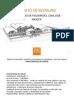 Apresentação do projeto de restauro de galpões industriais  da Móoca
