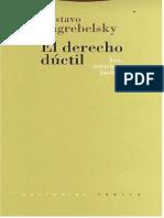 155026921 El Derecho Ductil Gustavo Zagr
