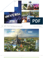 Universal Orlando Resort Destination Brochure