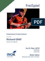 Richard GRAF Konzert 23. Nov. 2019 Roter Salon