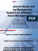 UTA-Organizational Needs and Building Management Support for TAM - Paul Edwards (1)