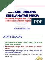 UU 1-70 & Peraturan Pelaksananya