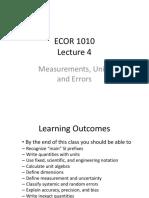Lecture 4 - Measurements, Units  Errors 2016.pdf