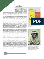 Indígenas de Argentina