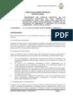 2. Especificaciones Tecnicas Estructuras - Murujaga