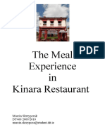 Meal Experience