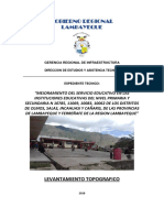 4. INFORME TOPOGRAFICO I.E. N° 10062 CAÑARIS
