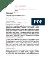 La Cuenta Clasificacion y Definiciones