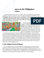 Five Festival Dances in the PH