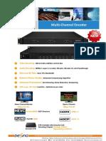 DX3224H (DX3224HV) Multi-Channel Encoder Spec 2019.6.27