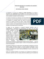 Simulacion y Optimizacion Industrial - Ayoroa Cardozo Jose Richard