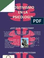 positivismo en psicología