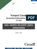 Transport Canada NAT HF Communications