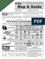 San Juan del Sur Map and Guide 15 November 2019